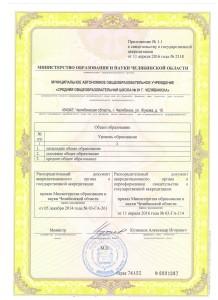приложение к свидетельсвту об аккредитации